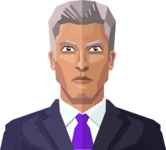 Male Low Poly Character Creator - Avatar 28