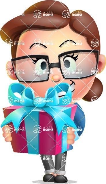 Vector 3D Business Woman Character Design AKA Sharon Blazer - Gift