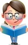 Cute Vector 3D Girl Character Design AKA Samantha PinkTie - Book 1