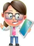 Samantha PinkTie - iPad 3