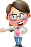 Cute Vector 3D Girl Character Design AKA Samantha PinkTie - Show 2