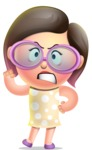 Maya Cutie-pie - Angry