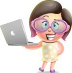 Maya Cutie-pie - Laptop 1
