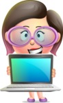 Maya Cutie-pie - Laptop 2