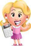 Martha Blonde - Calculator