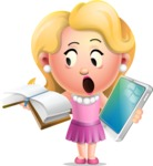 Martha Blonde - Book and iPad