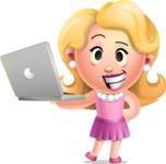 Martha Blonde - Laptop 1