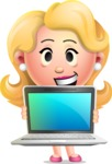 Martha Blonde - Laptop 2
