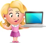Martha Blonde - Laptop 3