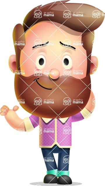 Vector 3D Cartoon Character АКА Ryan McConcept - Feeling Sorry