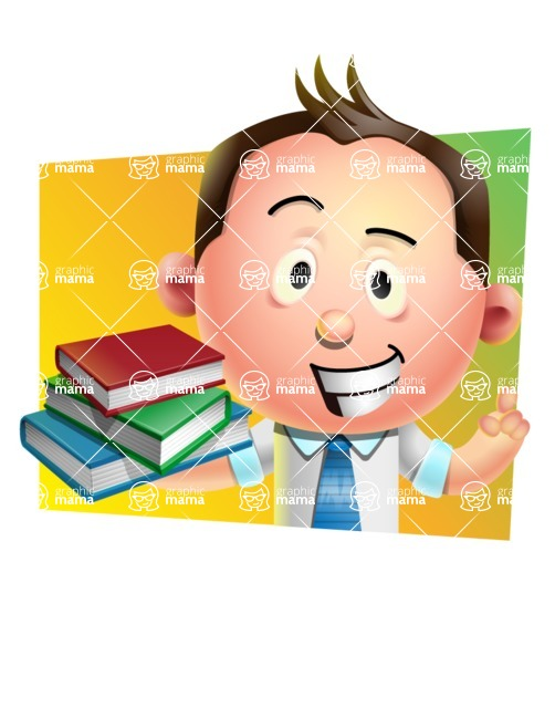 Vector 3D Businessman Character Design AKA Samuel Brightman - Shape 3