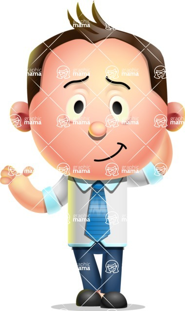 Vector 3D Businessman Character Design AKA Samuel Brightman - Sorry