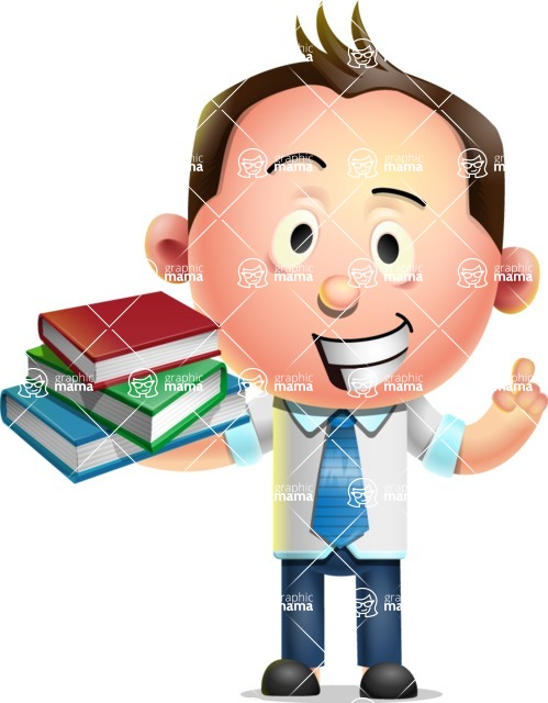 Vector 3D Businessman Character Design - Book 2