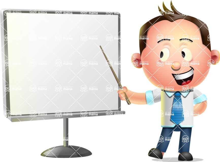 Vector 3D Businessman Character Design - Presentation 2
