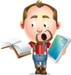 Mr. Jack Lumberjack - Book and iPad
