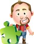 Mr. Jack Lumberjack - Puzzle