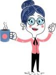 Carla Blushing - Coffee