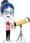 Carla Blushing - Telescope