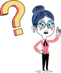 Carla Blushing - Question