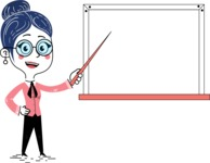 Carla Blushing - Presentation 3