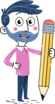 Jonathan Buddy - Pencil