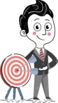 Hand Drawn Cartoon Vector Character AKA Mateo Suit-Up - Target
