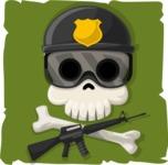 Skull Face - avatar 37