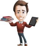 Book and iPad