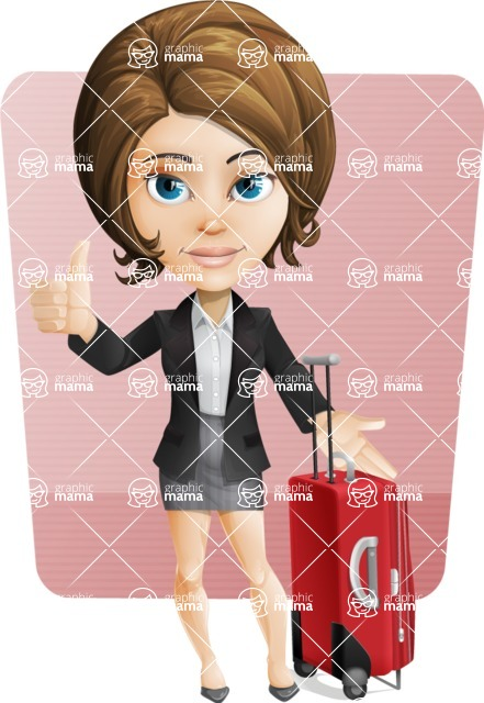 Grace as Lady Suitcase - Shape6