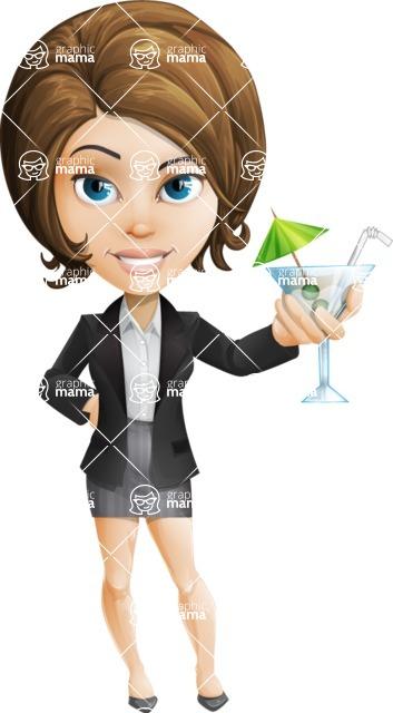 Grace as Lady Suitcase - Cocktail