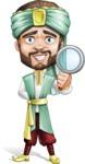 Arabian Man with Beard Cartoon Vector Character AKA Fath Victory - Search