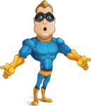 Superhero Cartoon​ Character AKA Commander Dynamo - Feeling Lost