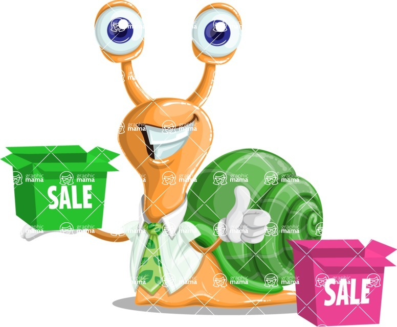 Collin The Snail Ecologist - Sale