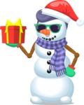 Snowman Hipster