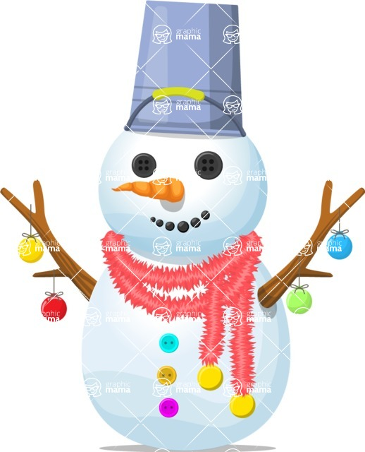 Snowman Graphic Maker - Snowman Funny with Lights