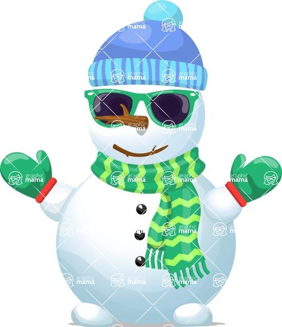 Snowman Graphic Maker - Cool Snowman