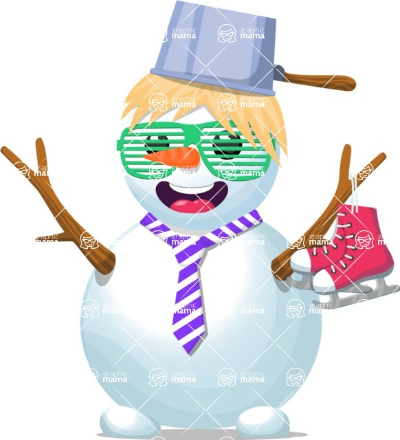 Snowman Graphic Maker - Quirky Snowman
