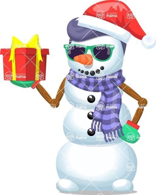 Snowman Graphic Maker - Snowman Hipster