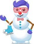 Build Your Jolly Snowman - Funky Snowman