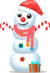 Build Your Jolly Snowman - Cute Snowman