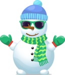 Build Your Jolly Snowman - Cool Snowman