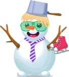 Build Your Jolly Snowman - Quirky Snowman