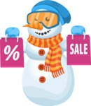 Chillie the Snowman - Shopping