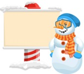 Chillie the Snowman - Sign 6
