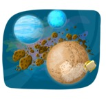 Universe Vectors - Mega Bundle - Asteroids in Space