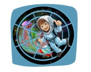 Universe Vectors - Mega Bundle - Astronaut in Spaceship