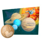 Universe Vectors - Mega Bundle - Solar System Planets and the Sun