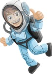 Universe Vectors - Mega Bundle - Astronaut in a Spacesuit