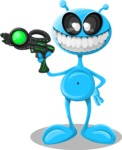Universe Vectors - Mega Bundle - Alien with Pistol