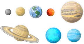 Space: We Are Not Alone - Solar System Planets